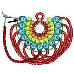 beaded earrings making Beaded Earrings Patterns, Seed Bead Patterns, Beading Patterns, Bracelet Patterns, Bead Jewellery, Seed Bead Jewelry, Seed Bead Earrings, Hoop Earrings, Seed Beads