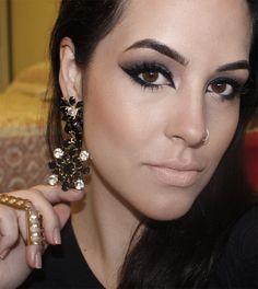 """Bruna Malheiros Makeup » Maquiagem Lilás """"Bapho"""""""