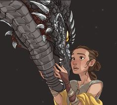 "A Girl and Her Dragon - GIF """"You're the man from my dream."" And what if I were? ""…You kissed me."" She felt her heart pound in her ears, flushing at the thought: all she wanted to do was kiss him again. "" A wild gif appears!! Featuring The Back of..."