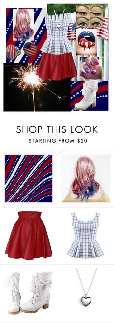 """""""Happy Fourth of July!"""" by ruescgj ❤ liked on Polyvore featuring Funlayo Deri, Pandora and Chicnova Fashion"""