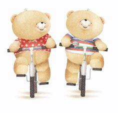 It's a brand new week! What have you got planned? Friend Cartoon, Bear Cartoon, Cute Cartoon, Tatty Teddy, Calin Gif, Teddy Beer, Cute Bear Drawings, Teddy Bear Pictures, Friends Image