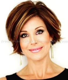 short hairstyles over 50 - Dominique