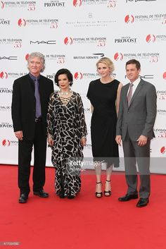 Patrick Duffy, Bianca Jagger, Princess Charlene of Monaco and Eric Close attend the 55th Monte Carlo TV Festival Opening Ceremony at the Grimaldi Forum on June 13, 2015 in Monte-Carlo, Monaco.