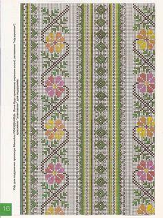 Cross Stitch Bookmarks, Cross Stitch Rose, Cross Stitch Borders, Cross Stitch Flowers, Cross Stitch Designs, Cross Stitching, Cross Stitch Embroidery, Cross Stitch Patterns, Hand Embroidery Design Patterns