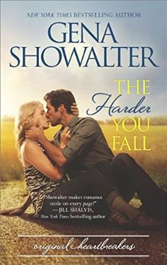 The Harder You Fall (The Original Heartbreakers, #3) by Gena Showalter - Jessie Kay & West's story!  He's been nasty since the day he met her but is it because he really wants her but doesn't think he should get what he wants?  Can Jessie Kay break through to see the real West?  And will his 2 month long relationship rule end up hurting JK in ways they never dreamed? Great trilogy!