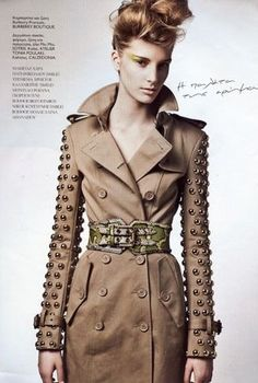 Studded Trench | Burberry Prorsum