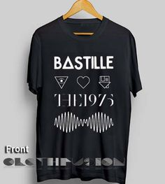 Unisex Premium Bastille The 1975 Arctic Monkeys The Neighbourhood T shirt Design