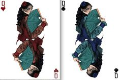 Sherlock Holmes Playing Cards by Abby Diamond | http://playingcardcollector.net/2013/11/30/sherlock-holmes-playing-cards-by/