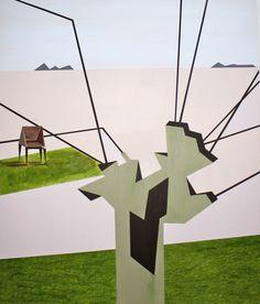 Geometriske malerier – LiseSteingrim Wind Turbine, Paintings, Art, Art Background, Paint, Painting Art, Kunst, Performing Arts, Painting