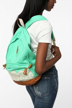 Such a cute backpack. #urbanoutfitters