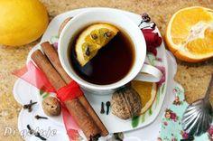 Di gotuje: Rozgrzewająca herbata z cynamonem, goździkami, pom...