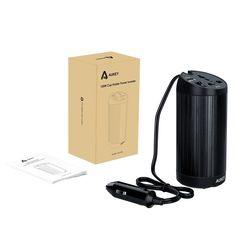 AUKEY Inversor de Corriente para Coche 150W, de 12V a 230V, con un Puerto USB 5V 2,1A, Perfecto para Viaje y Vacaciones en Coche Usando en los Dispositivos Hogares y Electrónicos: Amazon.es: Electrónica