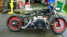 V Twin Diesel Motorcycle