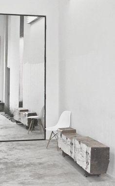 #interior design #hallways #minimalism #style #inspiration #white decor #mirrors