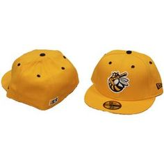 7b008442b04 Burlington Bees Official Alternate Gold Cap