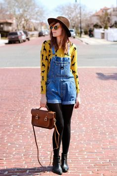 nyc fashion blog, nyc fashion bloggers, vintage fashion blog, overall outfit, shop your way