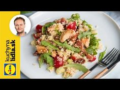 Pripravte si delikátny kuskus so zeleninou a kuracím mäsom. Lidl, Marcel, Asparagus, Vegetables, Diabetes, Youtube, Food, Kitchens, Drinks