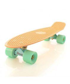 "Penny Board Pastel Peach 22"""
