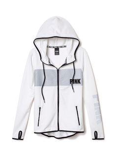PINKNEW! Reflective Full-Zip Fleece Hoodie: white reflective (3 of 4)