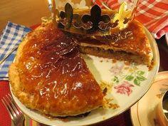 RECETTE simple : GALETTE des Rois Pommes-Praliné Mère Mitraille