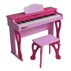 My First Piano Tutor 61 Key Digital Upright for Ages 6 and Up by Schoenhut Little Girl Toys, Toys For Girls, Kids Toys, Little Girls, Princess Toys, E Piano, Baby Doll Accessories, Upright Piano, Piano Teaching
