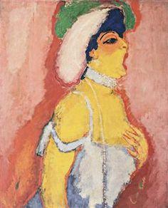 Modjesko, opera singer - Kees van Dongen