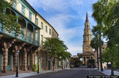 Huffington Post named Charleston one of the most romantic cities in the south. But, of course!