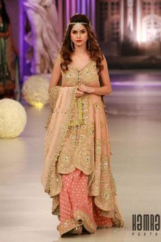 Tabassum Mughal. My favorite colour for a bridal dress.