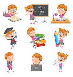 Teacher telling a story to kids in the classroom Vector Image Vector Free, Kids Lying, Kids Going To School, Japanese Kids, Kids Background, Kids And Parenting, Activities For Kids, Cool Ideas, Toddler Girls