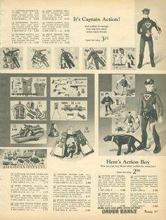 Captain Action / JC Penny 1967