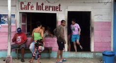 Cuba island-wide WiFi network