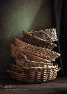 The baskets are empty by Mike_Dunbar