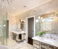 Perhaps, everyone knows about 3 important roles of mirrored surfaces in interior design. Firstly, they are irreplaceable when it comes to visual expansion of small and narrow rooms. Secondly, they add the sense of light to dark interiors. And thirdly, they enhance the perception of…