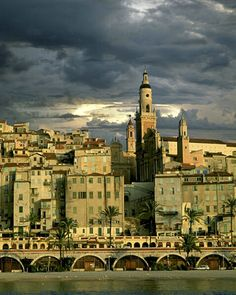 menton, france, along the cote d' azur, is where i often go to recharge batteries.  it is relatively free of tourists.