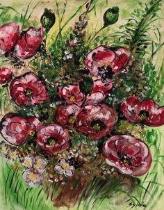 Bloemen Plants, Painting, Art, Art Background, Painting Art, Kunst, Planters, Paintings, Gcse Art