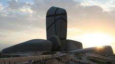 King Abdulaziz Center for World Culture. Designed for the oil company Saudi Aramco, the cultural centre will contain 100,000 square metres of cultural facilities – including an auditorium, cinema, library, exhibition hall, museum and archive.
