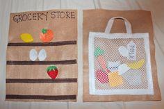 Grocery shopping for prasadam