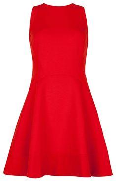 Ted Baker Red Skater Dress, £129