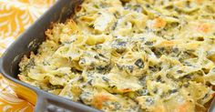 Spinich Artichoke Dip Pasta - Guess What We Did! We Took Our Favorite Dip And Turned It Into A Pasta!!