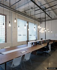 10 Industrial Chic Office Interiors - Fat Shack Vintage - Fat Shack Vintage