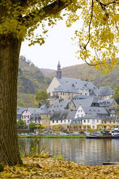 The small village of Beilstein , Germany