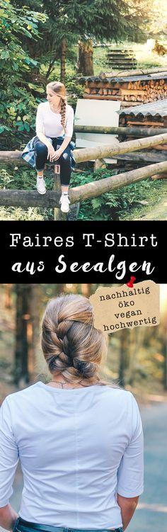 Funktionschnitt // Das fair produzierte T-Shirt aus Seealgen auf VANILLAHOLICA.com . Du denkst vegane Mode, oder Fair Fashion schaut langweilig aus ? Denkst du. Mit diesen Slow Fashion Marken kannst du dein Outfit aufpeppen.  Dieses Fair Fashion Outfit eignet sich perfekt für den Sommer, da es aus Bio Baumwolle und veganen Materialien besteht. Es handelt sich dabei um Bio Mode, also organic clothing oder auch ethical clothing genannt, dass unter fairen Bedingungen hergestellt wurde mit…