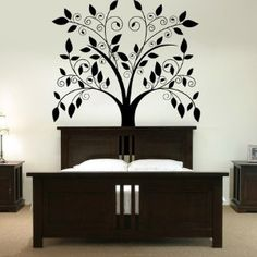 Giant Tree with Falling Leaves - Vinyl Wall Decals - | review | Kaboodle