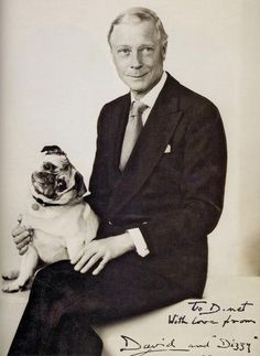 The Duke of Windsor and Dizzy.
