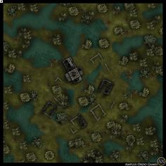 A catalog for user created maps and links to maps by other artists suitable for use in any D&D campaign, adventure, or encounter. Dungeon Tiles, Dungeon Maps, Games Room Inspiration, Cartographers Guild, Scale Map, Rpg Map, Grid, Forest City, D&d Dungeons And Dragons