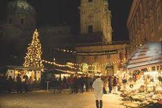 Salzburg Christmas Market  -  not far from Mozart house