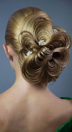 110 Best Bohemian and Wedding Braided Hairstyles That Comb Turn Heads for Fashio. - - 110 Best Bohemian and Wedding Braided Hairstyles That Comb Turn Heads for Fashion Girls – Page 42 – My Beauty Note Fancy Hairstyles, Creative Hairstyles, Trending Hairstyles, Bride Hairstyles, Peinado Updo, Competition Hair, Wedding Braids, Hair Art, Hair Designs