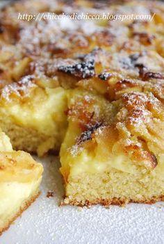The goodies gem: Soft Cake with Cinnamon and Apples Fruit Recipes, Apple Recipes, Wine Recipes, Sweet Recipes, Dessert Recipes, Sweets Cake, Cupcake Cakes, Tortillas Veganas, Torte Cake