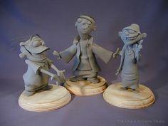 Ed, Edd, n Eddy #maquette by Chuck Williams for Cartoon Network