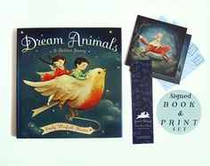 Dream Animals: A Bedtime Journey invites children to discover who their dream animal might be—and what fantastical dream it might take them to.